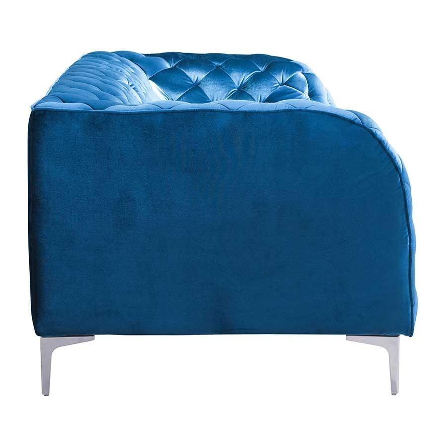 Providence Sofa Blue Velvet 900282zuo Zuo Modern
