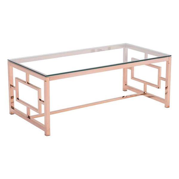 Geranium Coffee Table Rose Gold 100184
