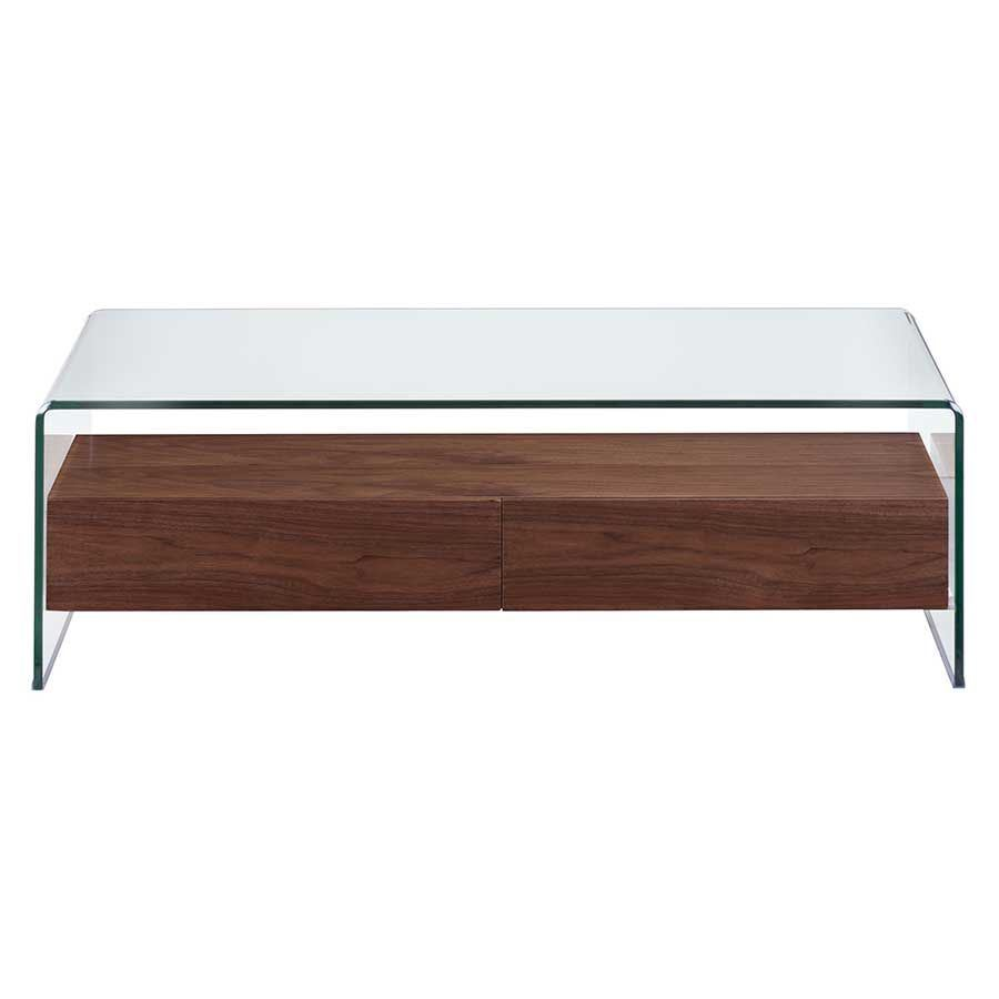 Shaman Coffee Table Walnut 404066 Zuo Modern Contemporary Afw
