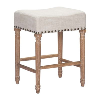 Imagen de Anaheim Counter Stool, Beige - Set of 2 *D
