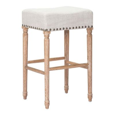 Picture of Anaheim Barstool, Beige - Set of 2 *D