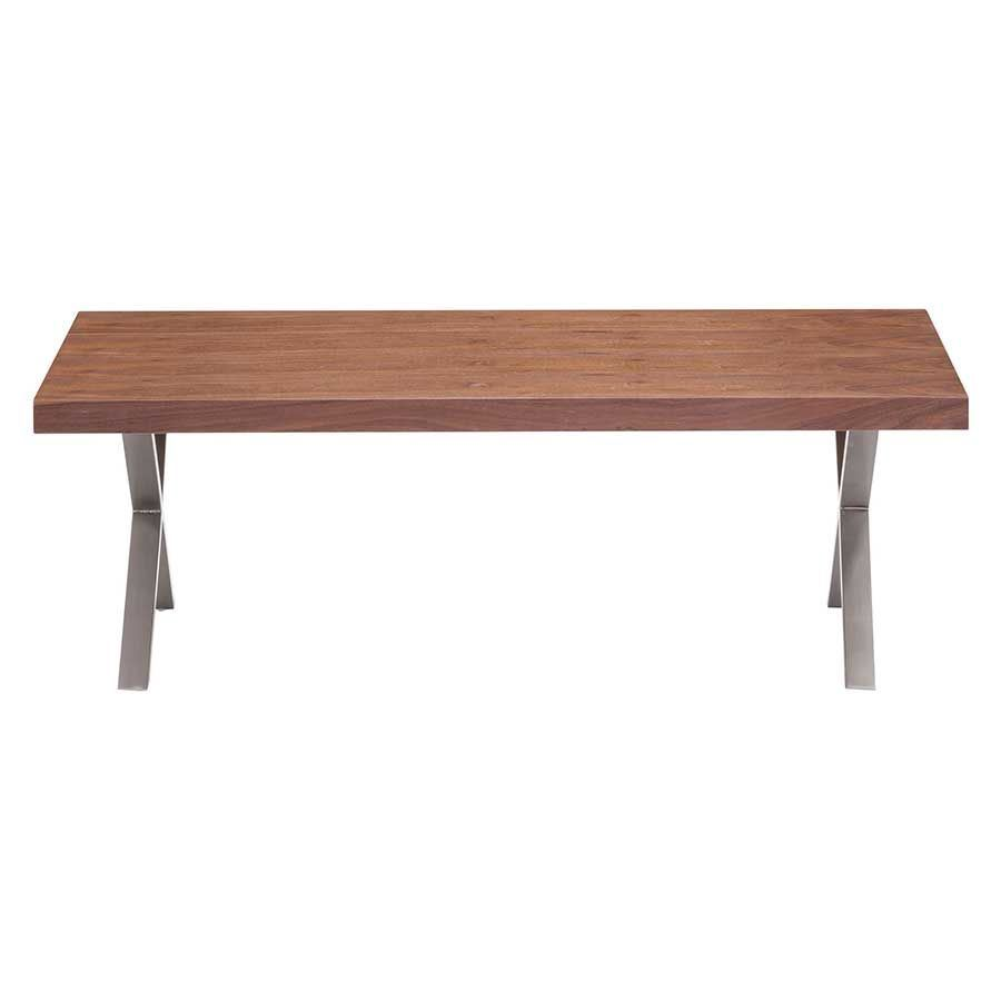 Renmen Coffee Table Walnut 100087 Zuo Modern Contemporary Afw
