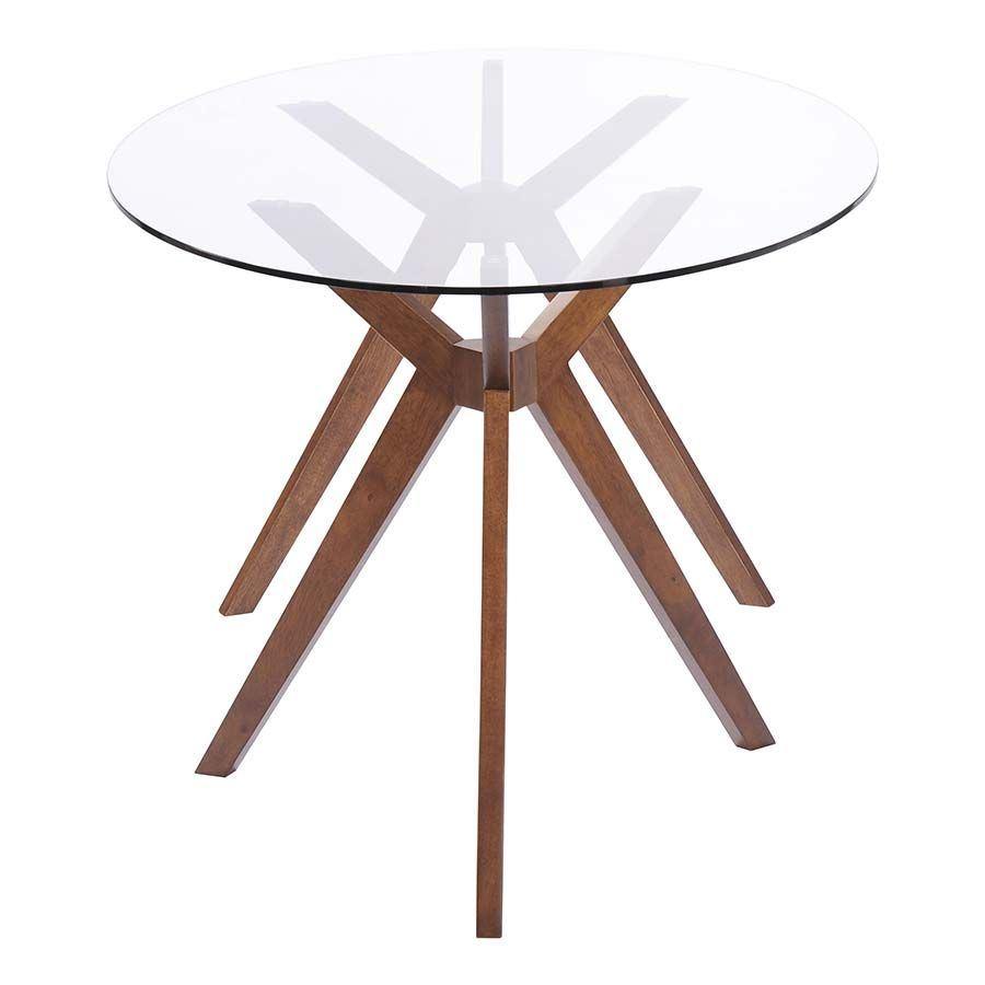 Buena Vista Dining Table Walnut 100090 Zuo Modern