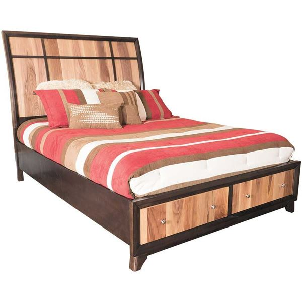 Ranger queen bed c6122a qso10b92qxj lifestyle for Lifestyle furniture