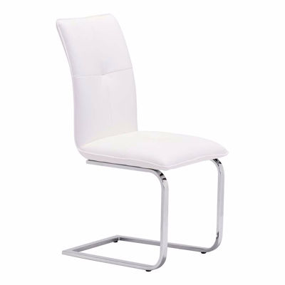 Picture of Anjou Dining Chair, White - Set of 2 *D
