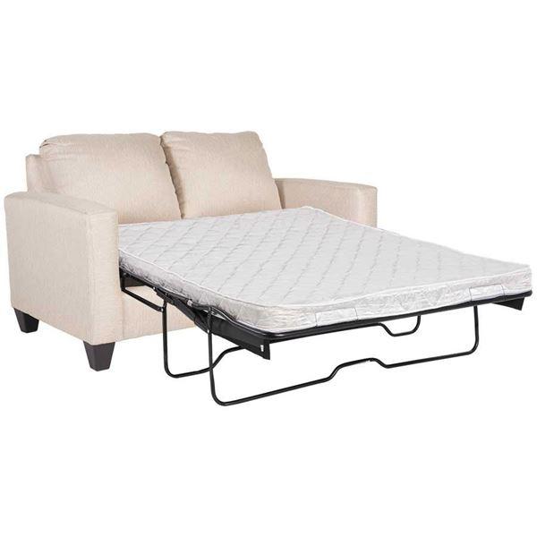 Picture Of Piper Cream Twin Sleeper Sofa