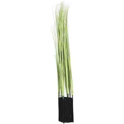 Imagen de Plastic Grass Decoration in Green
