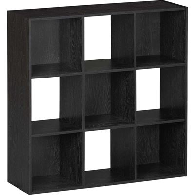Picture of SystemBuild Black Nine Cube Storage Bookshelf  sc 1 st  AFW & SystemBuild Black Six Cube Storage Bookshelf 764B   Ameriwood   AFW