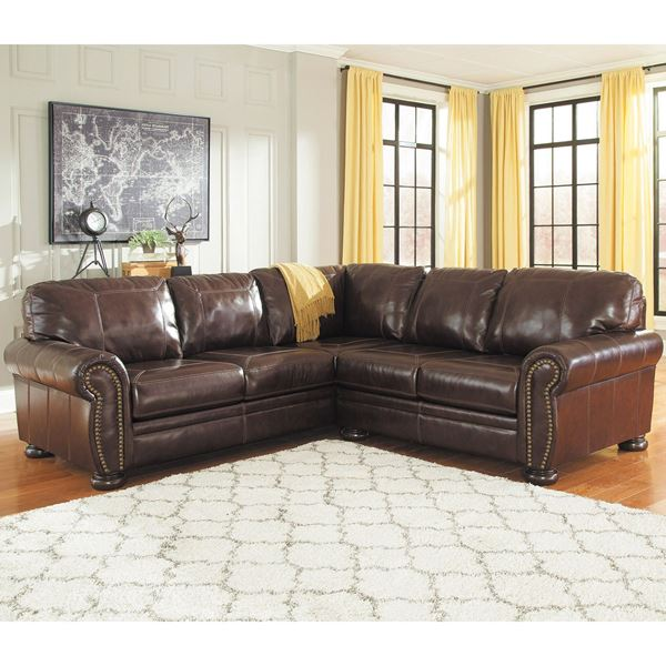 Picture Of 2PC LAF Sofa Leather Sectional