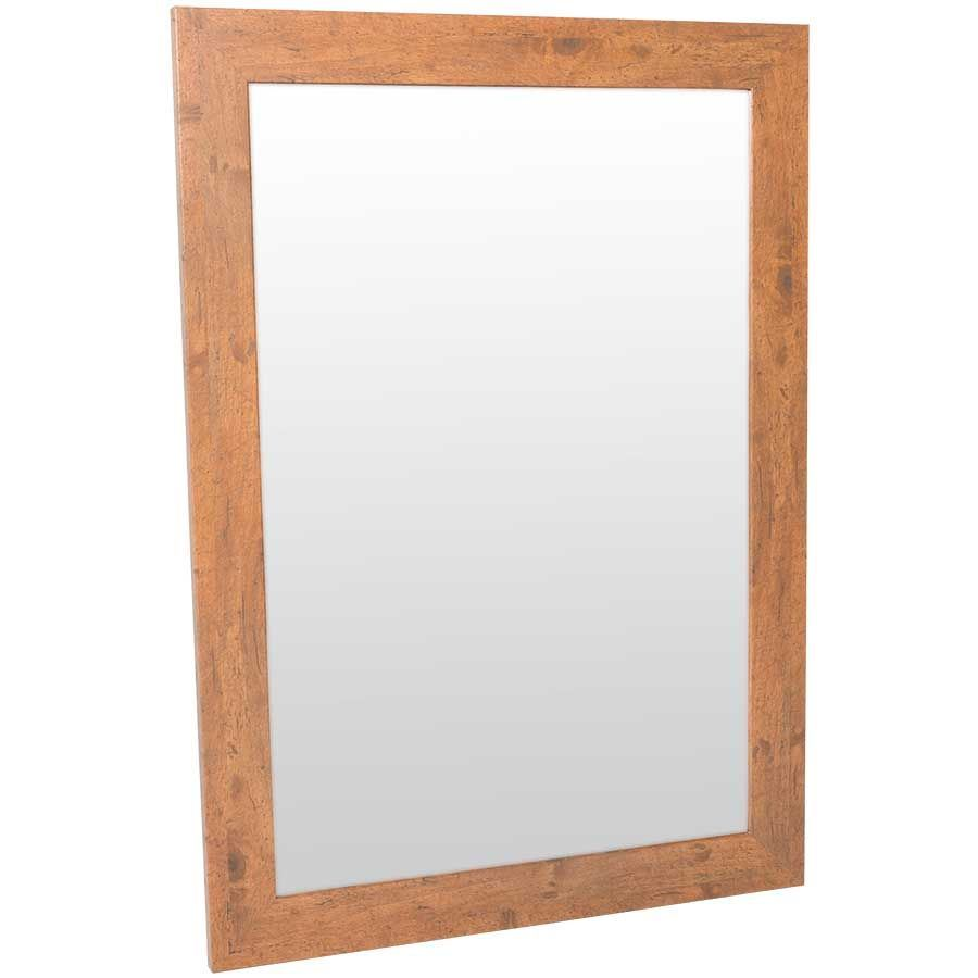 Picture Of Rustic Pine Wall Mirror 30x42