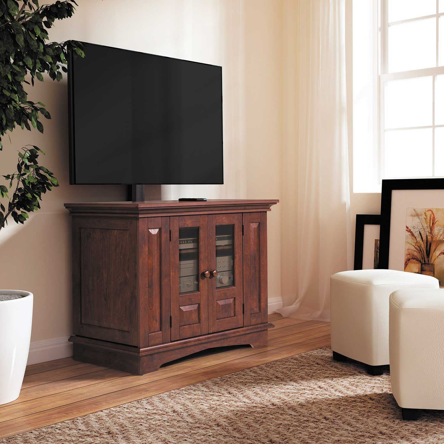 Living Room Tv Console Design Willow Mountain 37 Tv Console 1168196w Ameriwood Industries Afw
