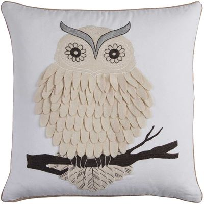 Picture of 20x20 Textured Owl Pillow *P