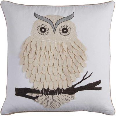 Imagen de 20x20 Textured Owl Pillow *P