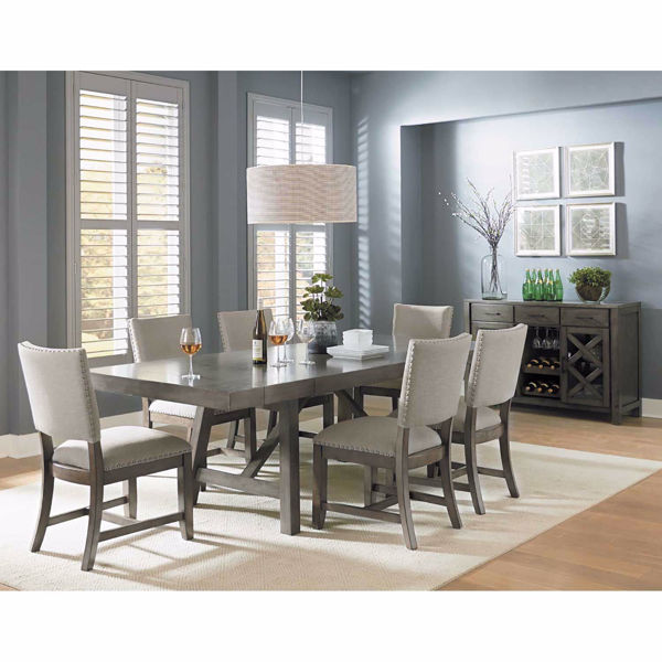 Dining Sets omaha 7 piece dining set 16681-7pc | standard furniture 16681-1