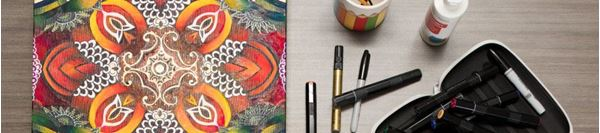 De-Stress from the Holidays with Coloring