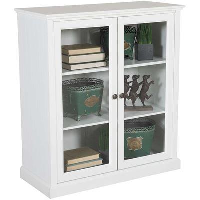 Picture of White Storage Cabinet