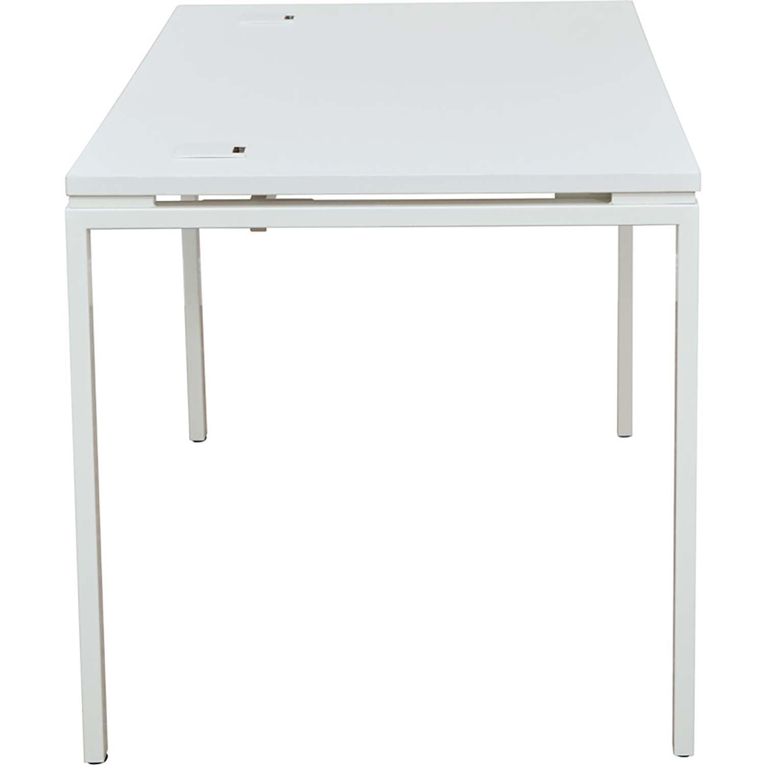 Picture Of 60 In White Writing Desk D