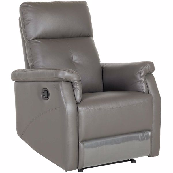 Dark Brown Leather Recliner Chair recliner chairs - best prices available! | afw