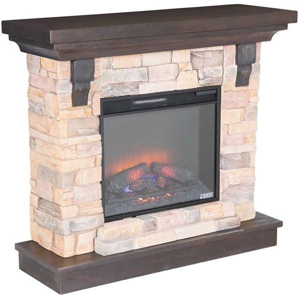 Eugene Media Fireplace 8909 Set Classic Flame Afw