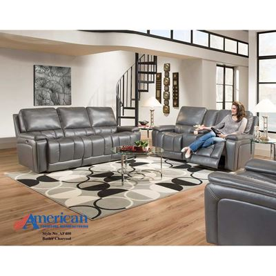 Picture of Charcoal Recliner