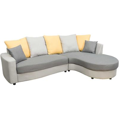 Picture of Elise Two-Tone Gray 2 Piece Sectional