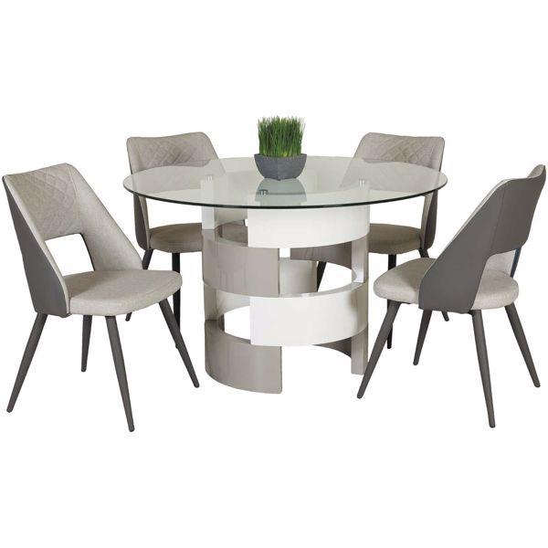 5 Piece Dining Sets jila 5 piece dining set | r956-1c(4)r875-tbl(1) | | afw