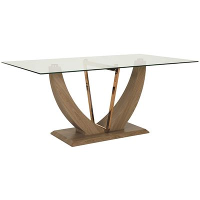 Imagen de Oslo Glass Top Dining Table
