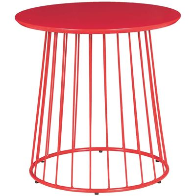Picture of RED ACCENT TABLE