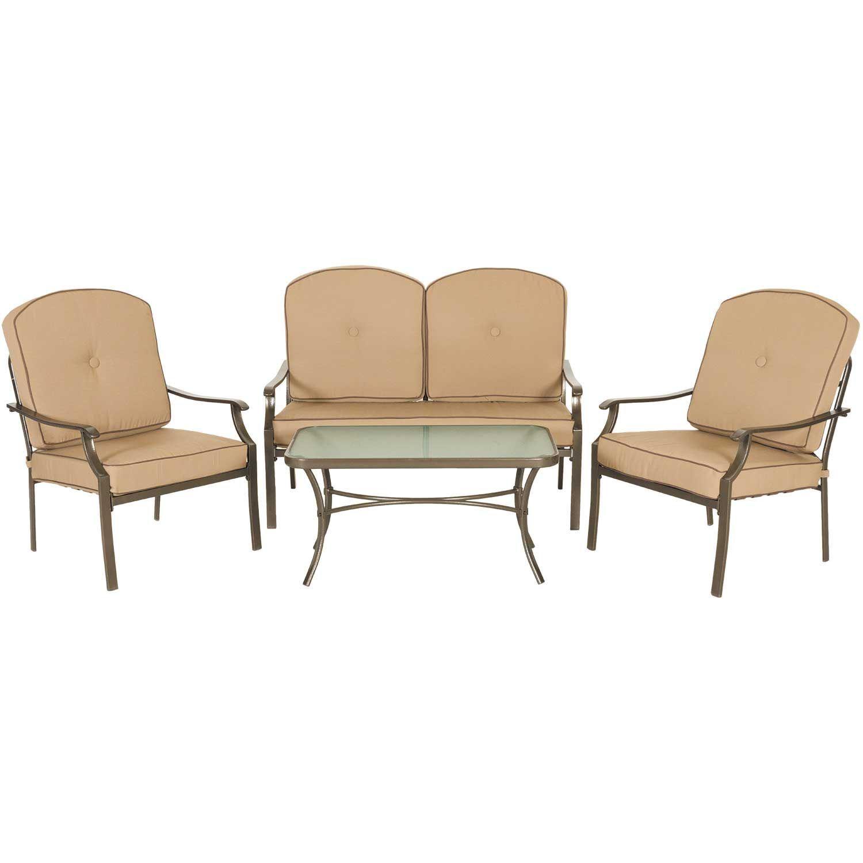 Picture Of Conversation 4 Piece Patio Set