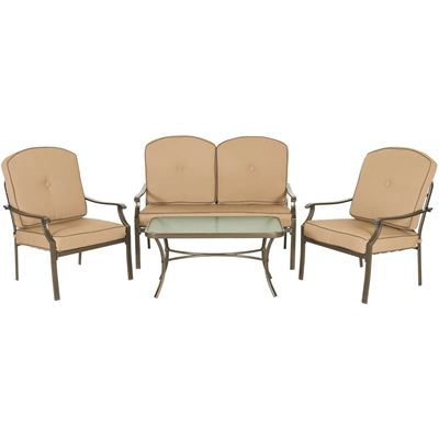 Picture Of Conversation 4 Piece Patio Set
