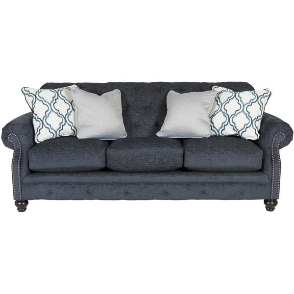 Lavernia Slate Tufted Sofa Nn 713s Ashley Furniture Afw