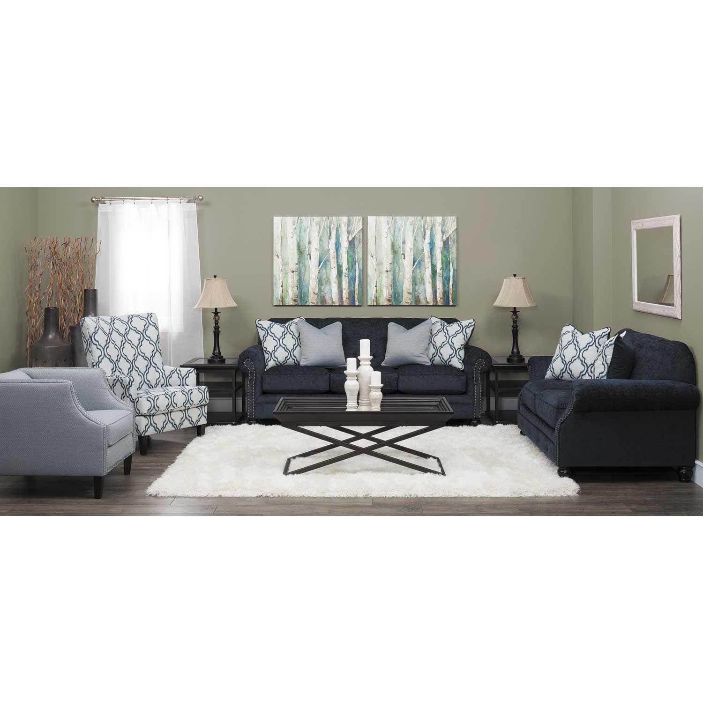 Lavernia Slate Tufted Sofa Nn 713s Ashley Furniture Afw