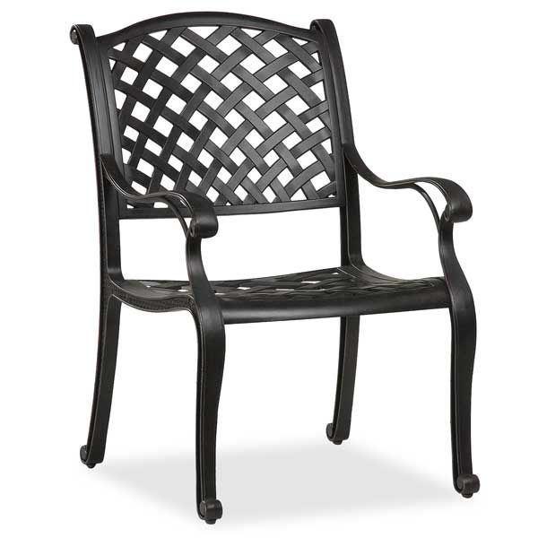 Cast Aluminum Arm Chair ACHR LD8176 1S15B World Source