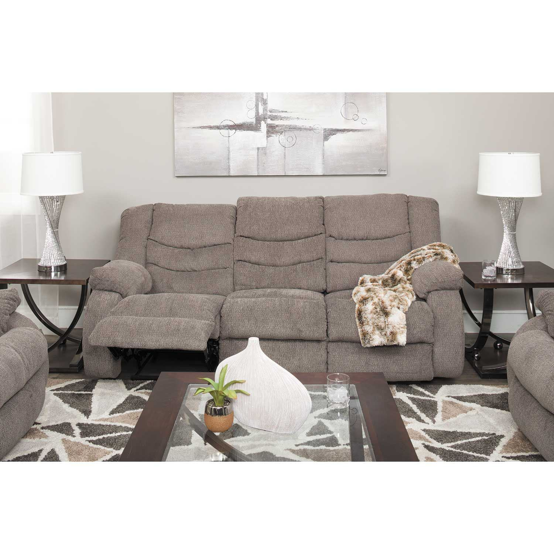 Tulen Gray Reclining Sofa T2 986rs Ashley Furniture Afw