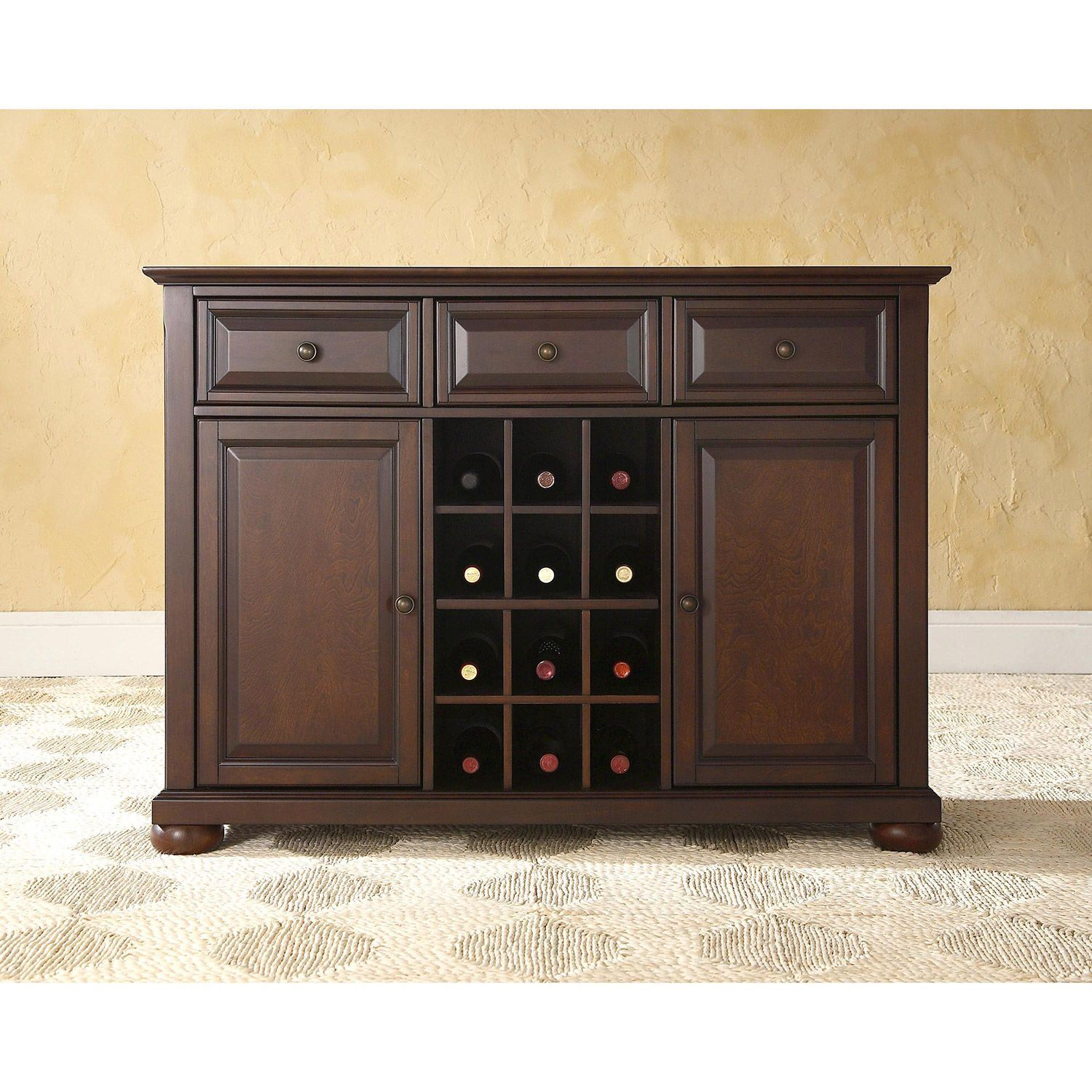mahogany sideboard server buffet alexandria buffet server sideboard mahogany d 7326