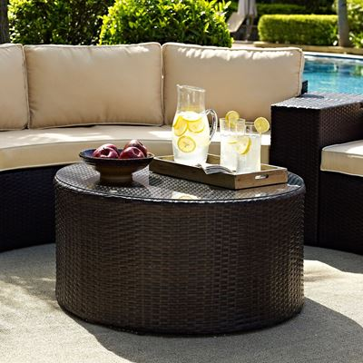 Imagen de Catalina Outdoor Coffee Table, Brown *D