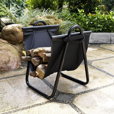 Picture of Logan Firewood Storage Carrier, Black *D
