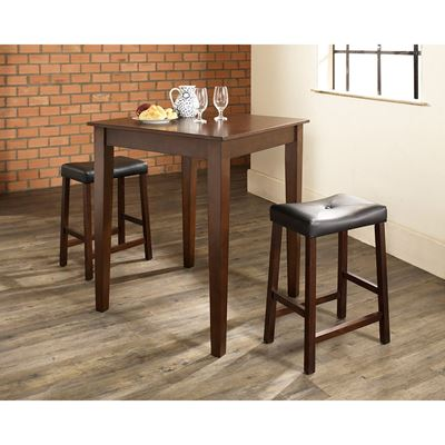 Picture of 3-Piece Pub Dining Set, Mahogany *D