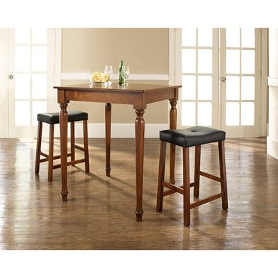 Picture of 3-Piece Pub Dining Set, Cherry *D