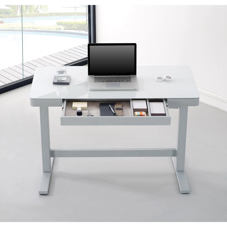 adjustable height desk  white  d odp10444 48d908