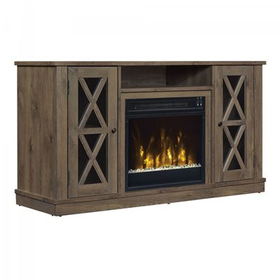 Picture of Bayport TV Stand with Fireplace*D