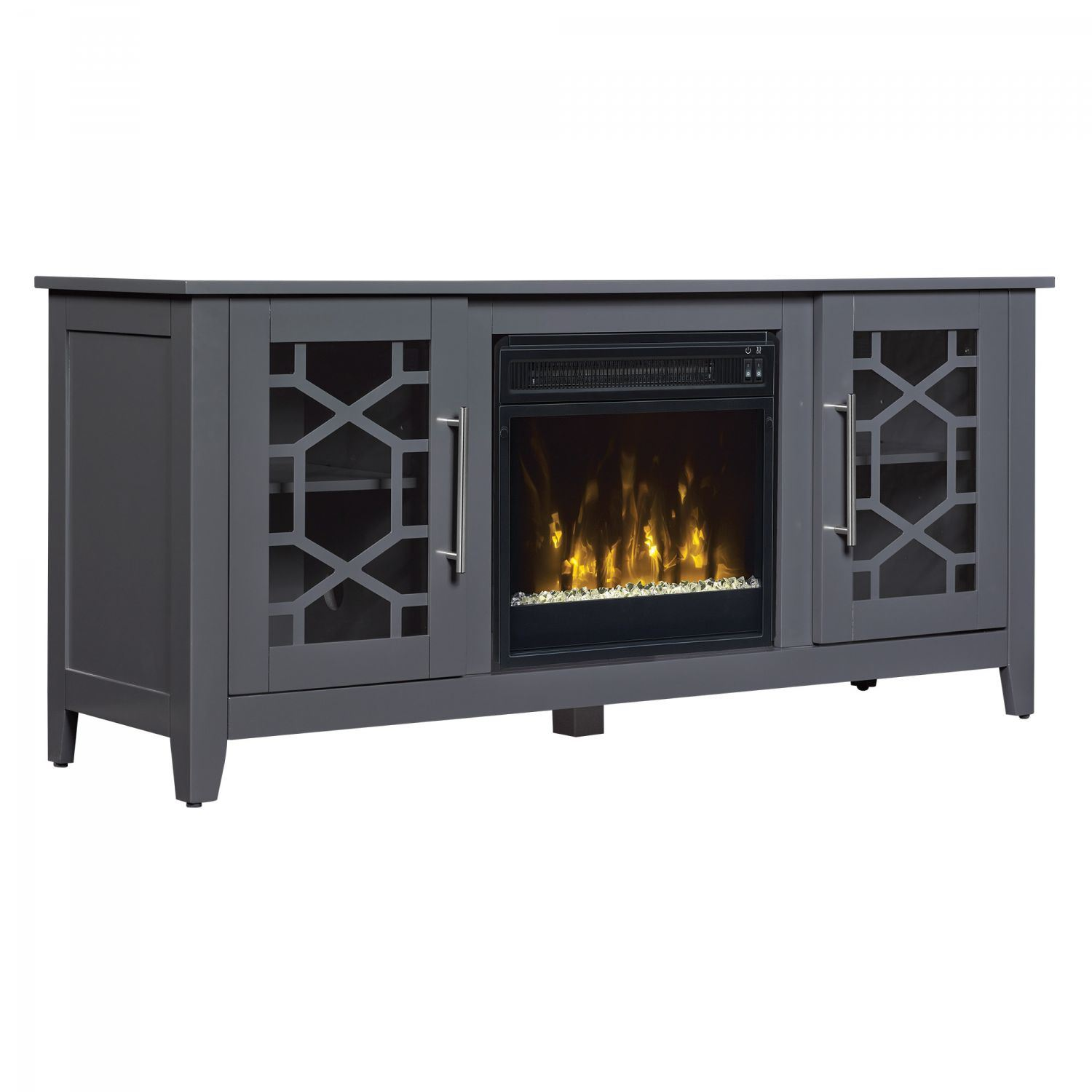 Clarion Tv Stand For Tvs Up To 60 Quot With Fireplace