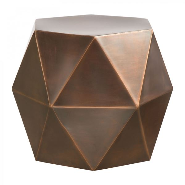 Amazing Chester Accent Table Bronze *D