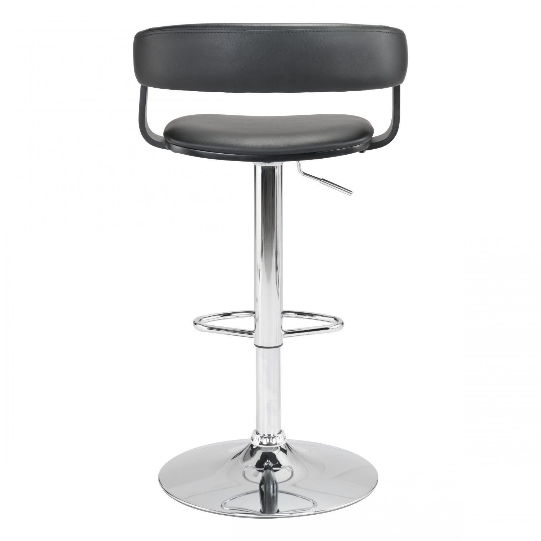 Fuel Bar Chair Black 100596 Zuo Modern Contemporary Afw