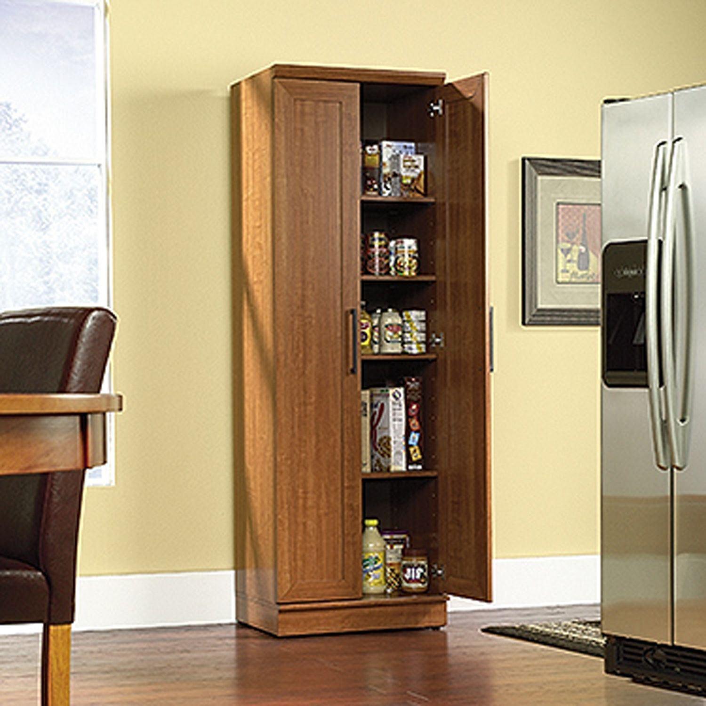 Homeplus Storage Cabinet Sienna Oak D 411963 Sauder