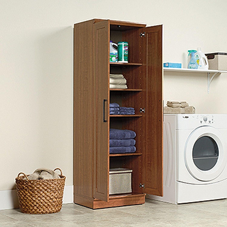 Homeplus Storage Cabinet Sienna Oak * D   411963   Sauder ...