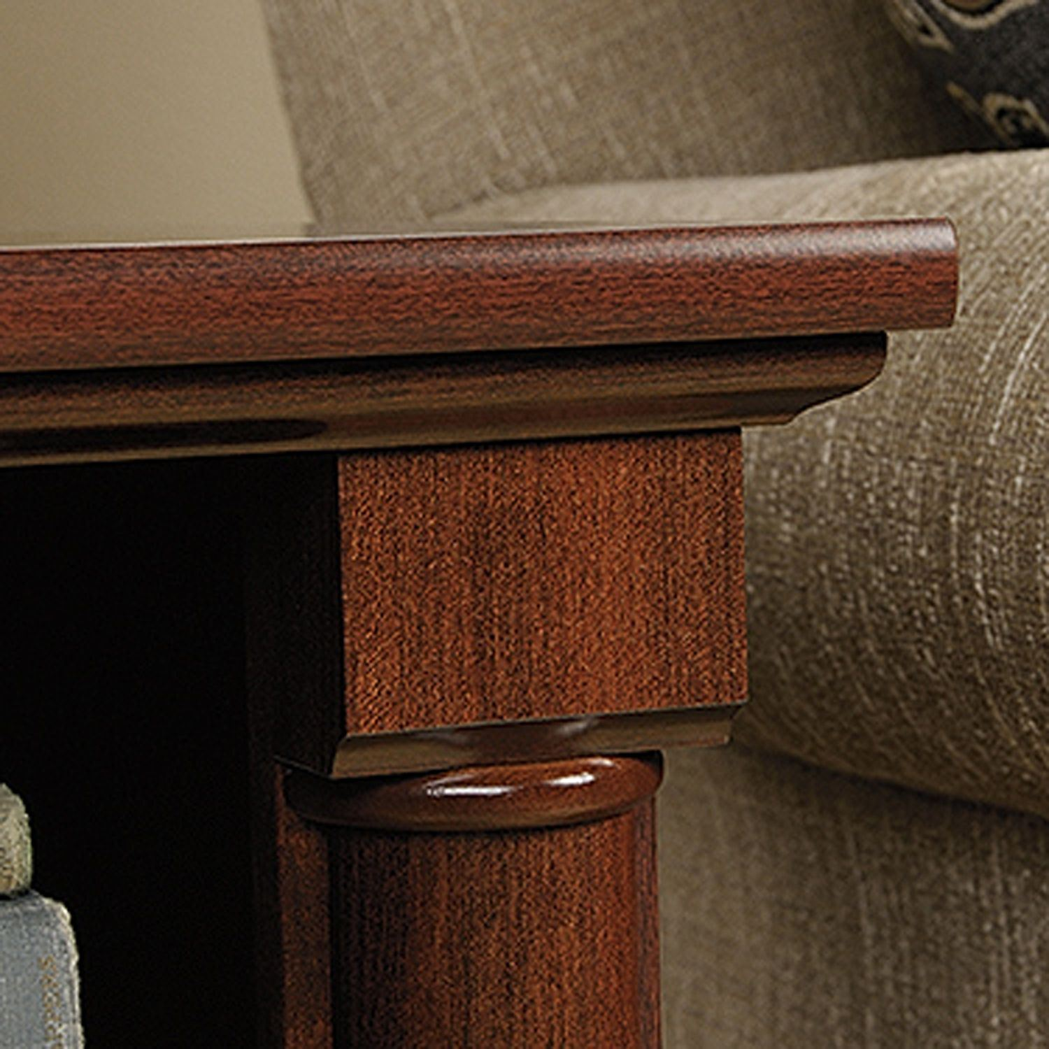 Palladia Side Table Select Cherry D 420519 Sauder