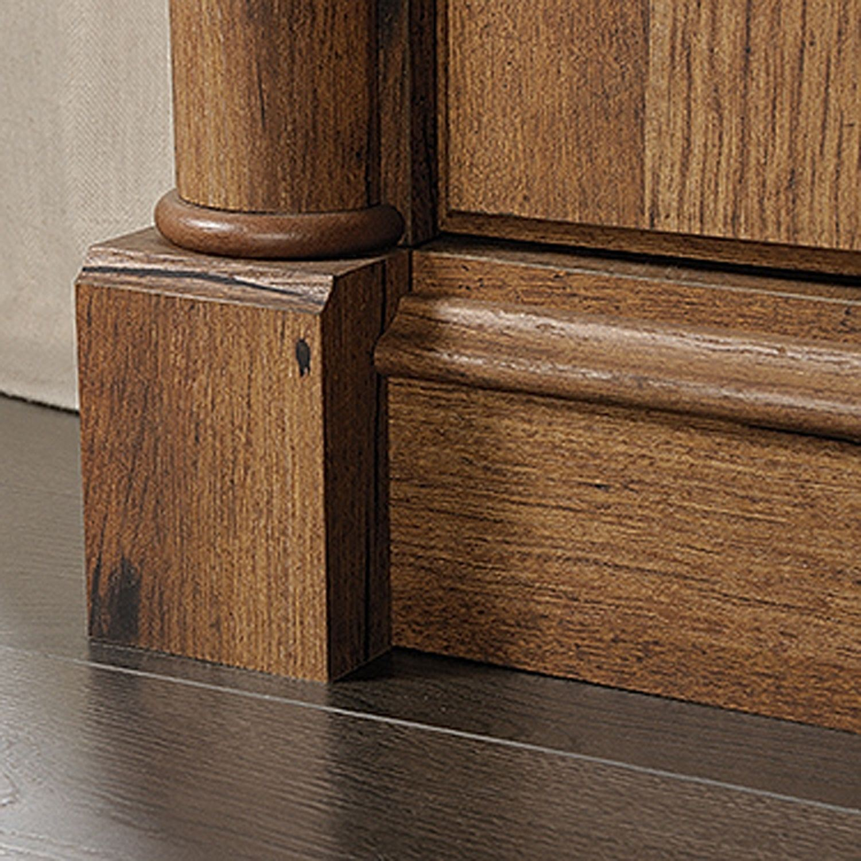 Palladia Panel Tv Stand Vintage Oak D 420605 Sauder