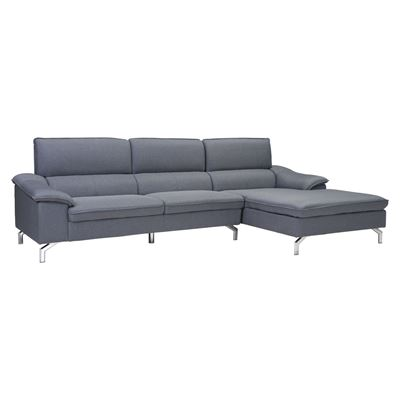 Picture of Ephemeral Sectional Right Hand Facing Gray *D