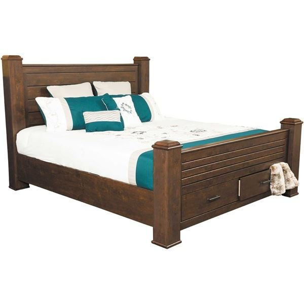 coco king storage bed